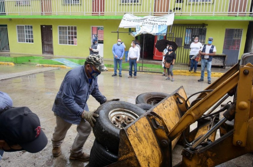 Unen esfuerzos gobierno de Altamira y Secretaría de Salud para evitar enfermedades vectoriales