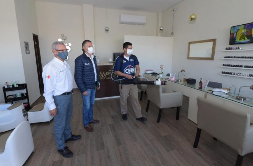 Encabeza Chucho Nader nuevos esfuerzos contra el coronavirus