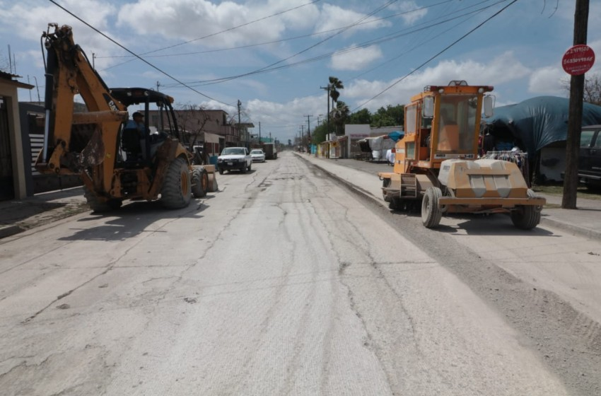 Mediante circuito vial Fidencio Trejo conectará sector oriente con sur de Matamoros