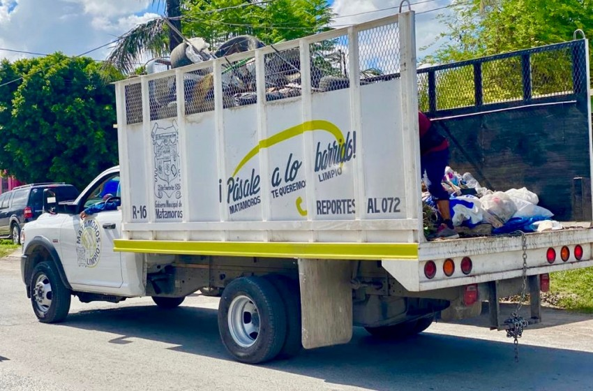 Servicio de recolección y transporte de basura es ahora más eficiente