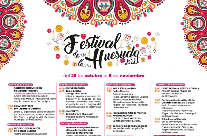 Celebrará Municipio Día de Muertos con Festival de la Huesuda